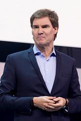 Carsten Maschmeyer als Investor auf der Bühne bei der Digital X in Köln