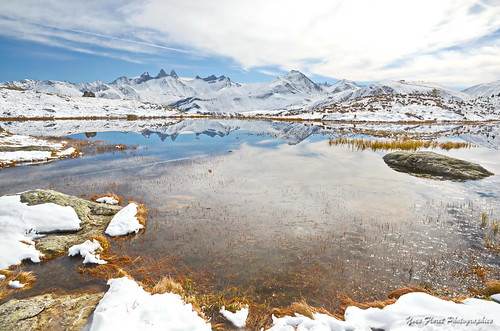 Premières neiges en Savoie.
