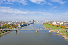 South Bridge over the Rhine in Cologne, Germany