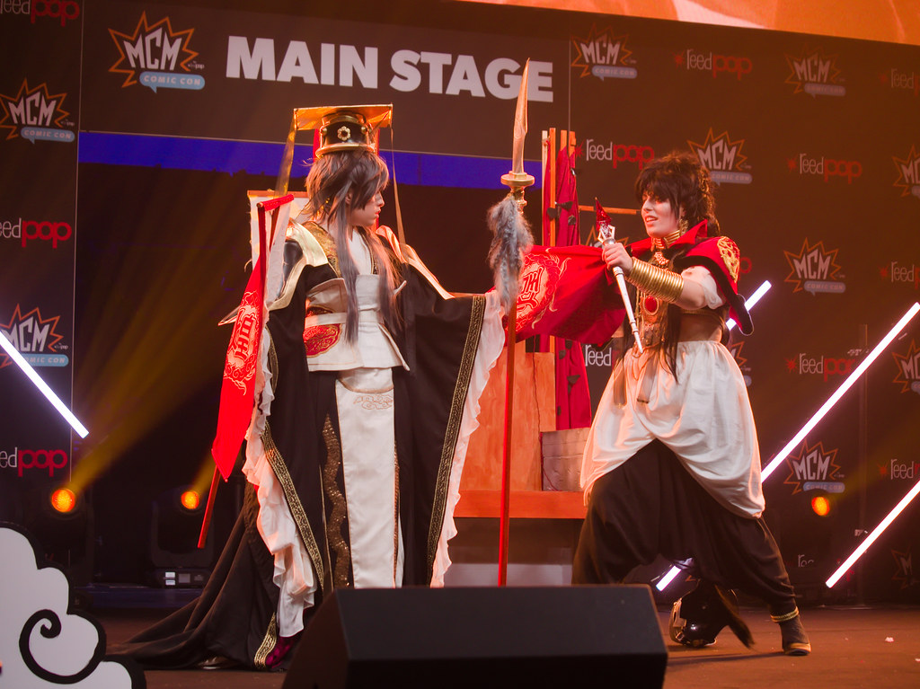 related image - Sunday Masquerade & Cosplay Contest - MCM London Comic Con -2019-10-26- P1900102