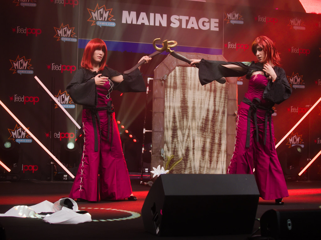 related image - Sunday Masquerade & Cosplay Contest - MCM London Comic Con -2019-10-26- P1899776