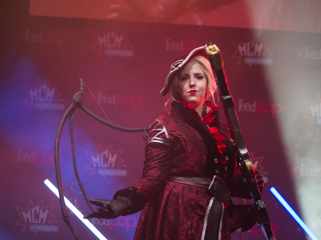 related image - Sunday Masquerade & Cosplay Contest - MCM London Comic Con -2019-10-26- P1899427