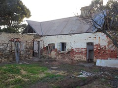 Poonindie. This was the boys' accommodation building built in the mid 1850s for the Anglican Poonindie Aboriginal Mission. The Mission closed in 1894.