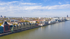 Rheinauhafen district in Cologne, Germany
