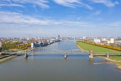 Südbrücke in Köln, Deutschland