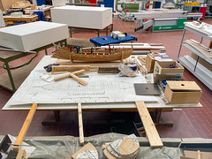 Workshop in the Museum Museum of Ancient Seafaring in Mainz, Germany