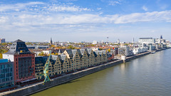 Rheinauhafen in Köln, Deutschland