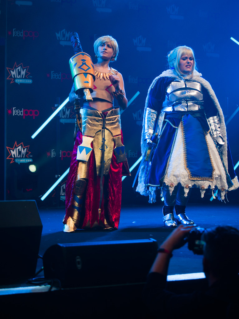 related image - Sunday Masquerade & Cosplay Contest - MCM London Comic Con -2019-10-26- P1900019