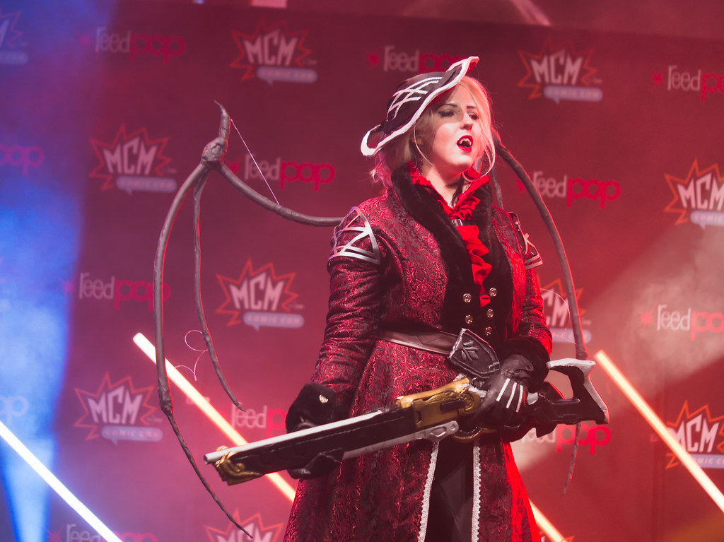 related image - Sunday Masquerade & Cosplay Contest - MCM London Comic Con -2019-10-26- P1899429