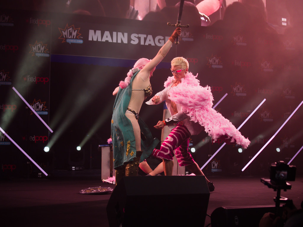 related image - Sunday Masquerade & Cosplay Contest - MCM London Comic Con -2019-10-26- P1899843