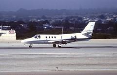N501TP Cessna citation i monterey 02-08-1995