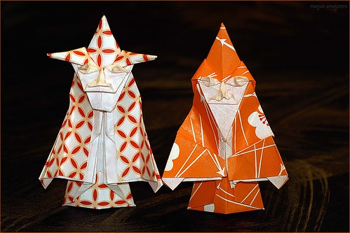 Origami Wizard and Witch (Robert Neal)