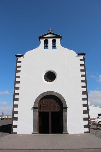 ESPAÑA 2019 - Lanzarote / Montaña Blanca (Tinajo)