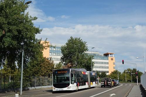Mercedes Benz Citaro G C2 n°811  -  Strasbourg, CTS