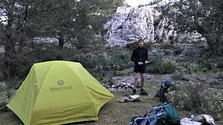 wild camping - Puig Gros