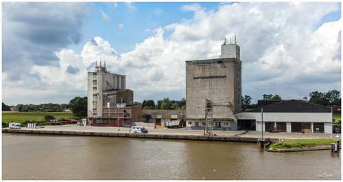 An Agricultural Mill on the bank of the Kiel Canal