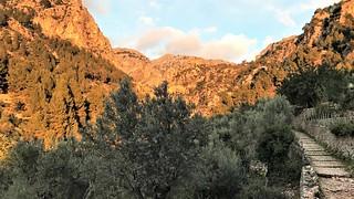 Trail after Biniaraix