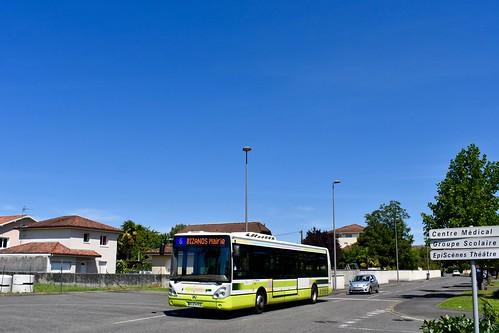 Bizanos - irisbus Citelis 12 - 16/08/19