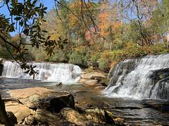 French Broad Falls & Mill Shoals Falls