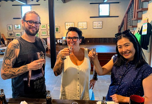 Sake sippers