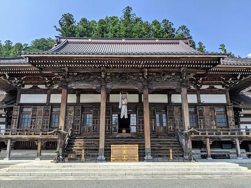 Black dragon temple