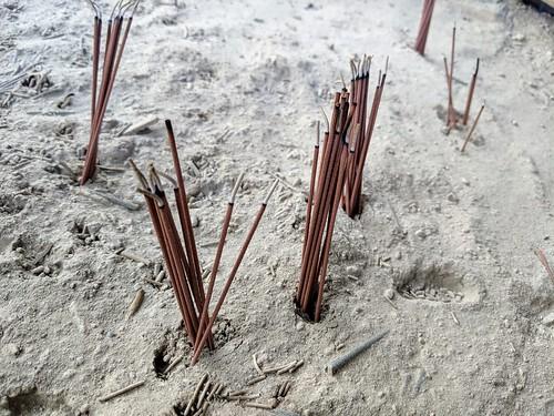 Burnin some sticks