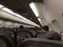 United Airbus A320 Cabin