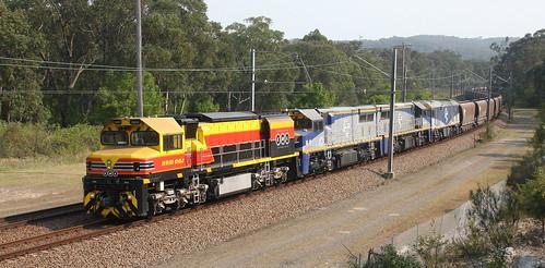 BRM002 + VL353 + VL354 & GL102 SSR ER02 LOADED COAL TO ERARING POWER STATION.