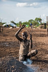 Burning Mound, Mundari Tribe
