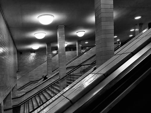 Underground impressions from Alexanderplatz