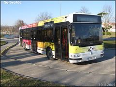Renault Agora S – Vienne Mobilités (Transdev) / L'va (Lignes de Vienne et Agglomération) n°61