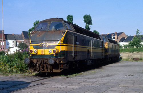 NMBS / SNCB 6273 + 6286