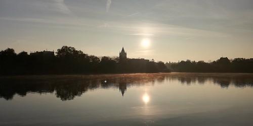 Merseburg am Morgen