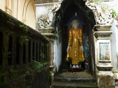 Buddha in a Moldy Nook, Mawlyamine Burma