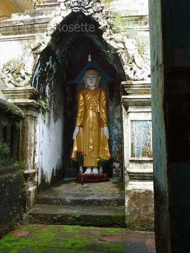 Buddha in a Moldy Nook, Mawlyamine Burma (vertical)