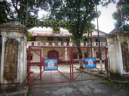Gates of Mawlyamine Prison, Burma