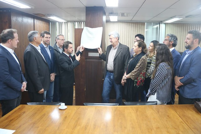 31/10/2019 Inauguração placa fotográfica Senador Heinze - Assembleia Legislativa RS