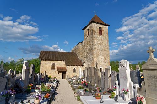 Eglise de Saint Romain de Jalionas - Isère