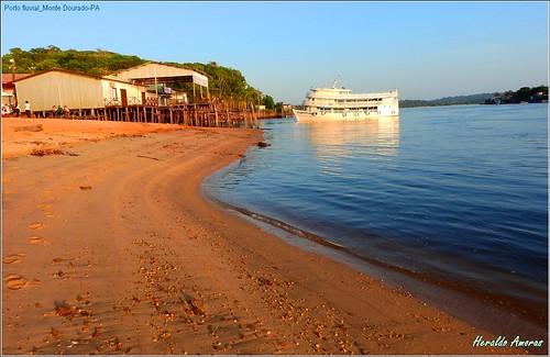 Rio jari_Porto fluvial de Monte Dourado-Pará-PA