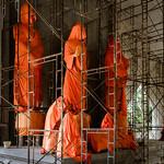 Buddhas in waiting.