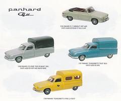Panhard PL17 Eligor/Leader models