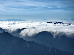 Sea of Clouds, from the summit of Mt.Onanji