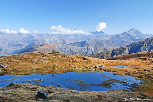 Couleurs d'automne en Savoie,