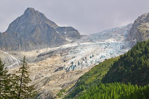 Tour of Mount Blanc Stage 7 - Glacier de Trient