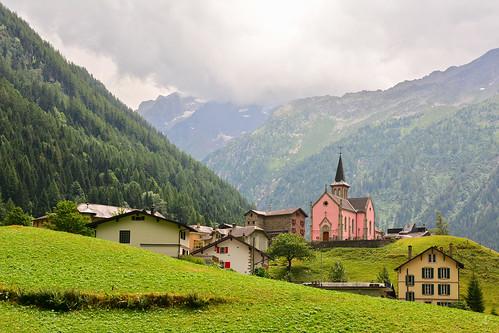 Tour of Mount Blanc Stage 7 - Trient