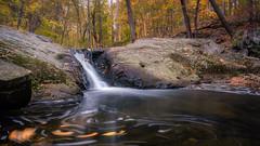 Croydon Creek Waterfall in Autumn