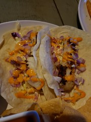 Fish Tacos at Drunken Donkey in The Colony