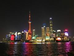 Shanghai 10-22-19 Bund and Pudong at Night