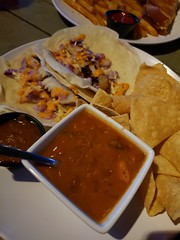 Fish Tacos at The Drunken Donkey in The Colony