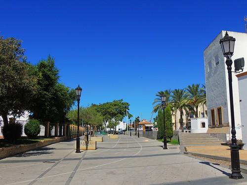 <Paseo Alonso Barba> Lepe (Huelva)